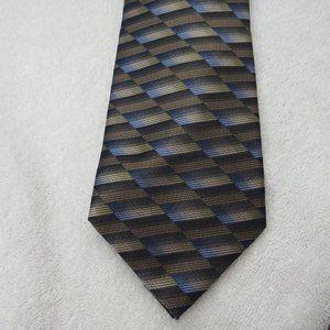 Joseph & Feiss Tie 100% Silk Striped Necktie